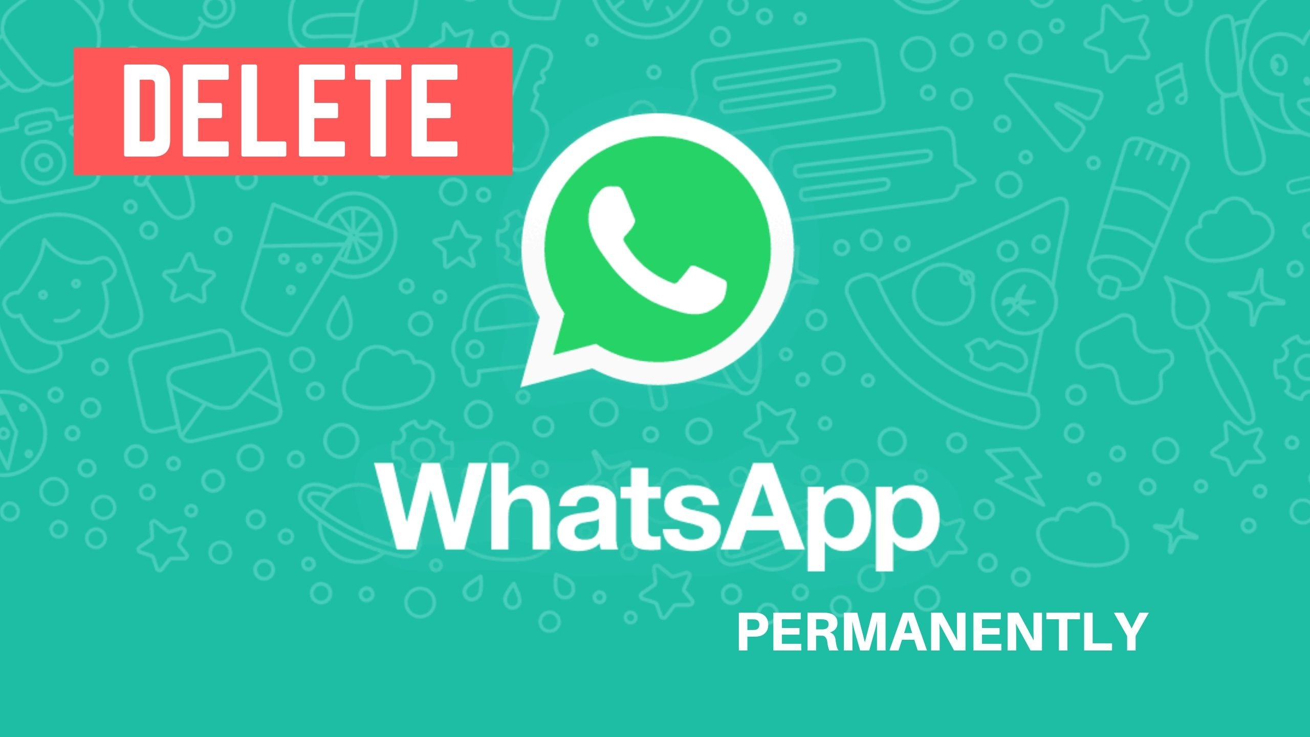 Delete-WhatsApp-account