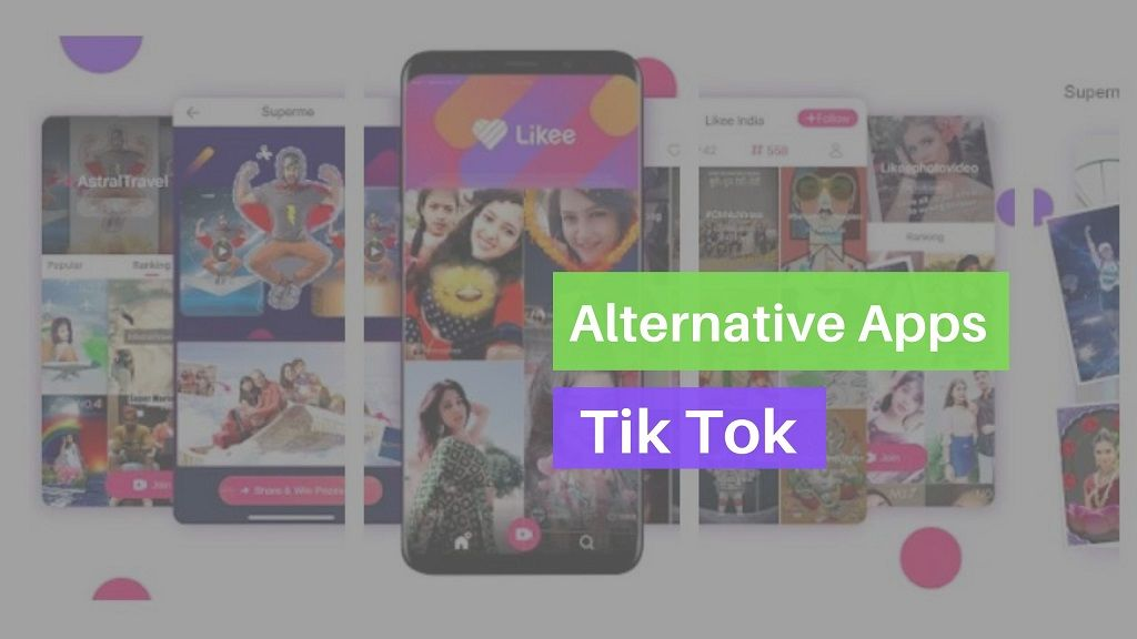 Tik tok alternatives