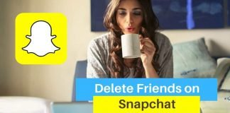 Delete Friends on Snapchat